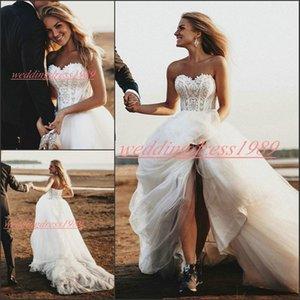 Elegance chérie Robes de Mariée Plus Size A-ligne africaine manches Applique Tulle mariée bal robe de mariée Robe de mariée Mariage