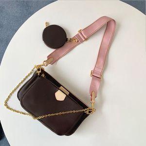 Vendita Set di 3 pezzi designer sacchetto delle donne crossbody sacchetto di cuoio genuino borse di lusso borse designer borse tote signora Coin Purse tre voce