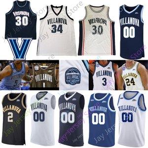 2020 Villanova Wildcats Basketball Jersey NCAA Jeremiah Robinson-Earl Saddiq Bey Cole Swider Gillespie Samuels Moore Lowry Paschall