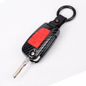 Car Styling-Zubehör-Schlüssel-Beutel-Abdeckung ABS Dekoration Schutz Schlüsseletui Schlüsselanhänger für Audi A6 RS4 S5 A3 Q3 Q5 S3 A4 Q7 A5 TT 2018