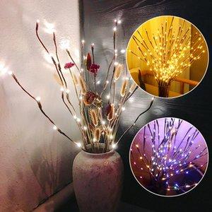 LED 버드 나무 분기 램프 꽃 등 20 전구 ChriLED 버드 나무 분기 램프 크리스마스 꽃병 꽃 등 20 전구 홈 파티 정원 장식