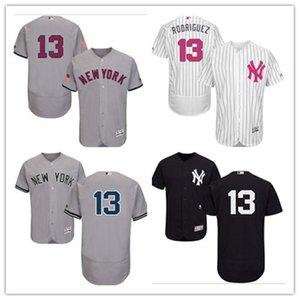 custom free ship Baseball Jerseys ny 13 Alex Rodriguez New YorkYankees Yankee men women youth red white high-quality jersey
