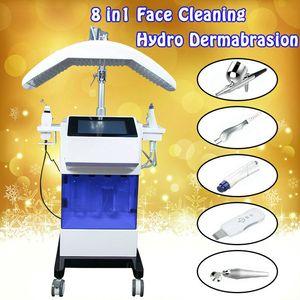 Hydra peau du visage Rejuvanation Hydra dermabrasion faciale machine à papier peau Scrubber Pistolet à améliorer la peau du visage