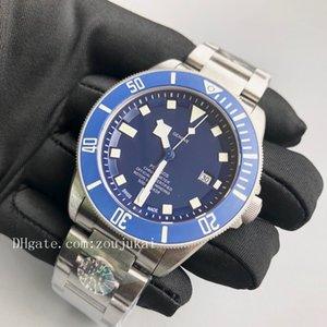 2020 роскошь дизайнер бренда мужчин tudorrr часы черный лавровый наручные часы Пелагос часытюдоровский00 мужские часы [не от пролитой шерсти] D2102