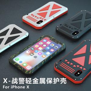 Telefone Capa Para IphoneX Defesa queda Personalidade Shell Mão JSKEI IX X-Men Camouflage verde antidetonante Shell