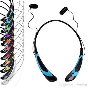 HBS 760 S Kulaklık Bluetooth Kulaklık Spor Bluetooth Hoparlör Boyun Bandı Kulaklık Perakende Paketi Ile Bluetooth 4.0 MQ50