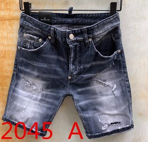 2020 Mens Designer Jeans Men Hip-Hop Biker Jeans Striped Cotton Denim Military style Hip Hop summer men's denim shorts men jeans