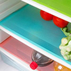 12 Confezione Frigorifero Mats, lavabili Frigo Mats fodere impermeabili ripiani del frigorifero Pad Mat cassetto del tavolo Mats Frigorifero Liners f