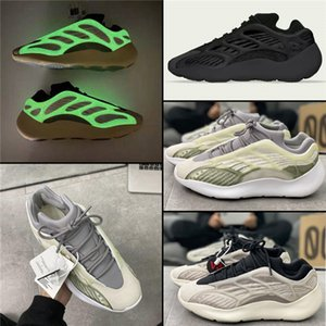 Kanye West PK Version Azael Alvah Men Women Shoes 700 V3 Carbon Sneakers Vanta Salt Static Geode Reflective Black Inertia Wave Runner Shoes