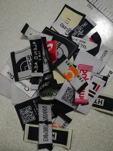 Broderie Pa Marque main Vêtements de soins Étiquettes pour les vêtements vêtements tissés Lavable Étiquette de vêtement Tags Étiquettes d'étiquettes de vêtements ruban tissé