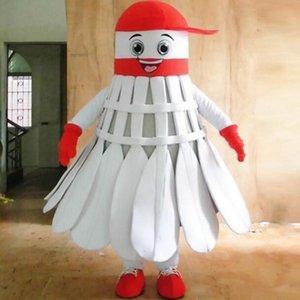 Fabbrica diretta Make EVA Materiale Casco Tre costumi da badminton Mascotte Costumi Cartoon Apparel Festa di compleanno Masquerade WS1021