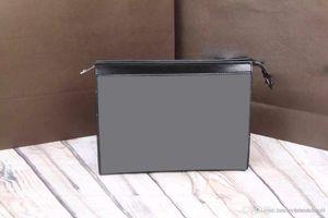 TOP POCHETTE VOYAGE MM N41696 mens Eclipse canvas TOILETRY POUCH 26 bag дизайнерская сумка кошелек на молнии кошелек клатч N41631 M61692 M47542 M43614