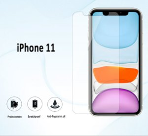 NEW FOR IPHONE 11/11 PRO / 11PRO MAX الأمامي و9H صلابة MATTE المضادة للخدش CELL PHONE SCREEN PROTECTORS FREE SHIPPING