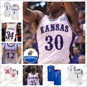 2020 Kansas Jayhawks Basketball #0 Frank Mason III 4 Devonte ' Graham 10 Святослав Михайлюк 12 Kelly Oubre Jr. 34 Пирс ретро Джерси 4XL