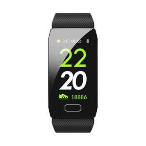 Faixas de Relógio inteligente Q1 Pulseira Inteligente Rastreador de Fitness Medidor de Pressão Arterial de Pressão Arterial de Oxigênio Monitoramento de Sono Tempo de Chamada IP67 À Prova D 'Água