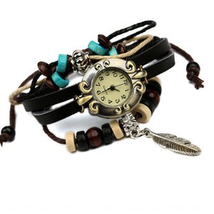 Low price pure cowhide watch recommended genuine watch for men and women leather bracelet leather bracelet