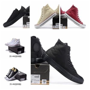2019 Marque toile étoile années 1970 Ox Luxury Designer occasionnels Chaussures Salut Reconstruit Slam Jam Noir Reveal Hommes Femmes Canvasconversesss 36-45 9520 #