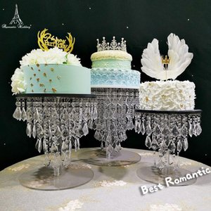 New Style Wedding table centerpiece acrylic cake stand crystal cake stands nice wedding party decoration