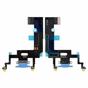 50pcs carregamento Flex para o iPhone de 8 Plus XR USB Charger Porto Dock Connector Com Mic Flex Cable