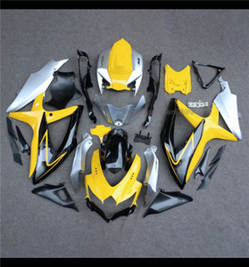 Für Suzuki GSX-R GSXR600 / 750 K8 2008-2010 ABS Verkleidungs-Karosserie-Panel-Kit-Einspritzung