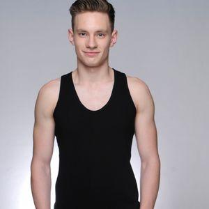 Lan Lingcheng 2019 pure cotton seamless base I-shaped vest men's fashionable men's vest