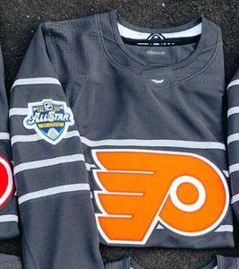 2020 All Star Game 11 Travis Konecny 13 Lil Peep Claude Giroux Personalizza Philadelphia Flyers Hockey Jersey Couturier Hayes Voracek Hart