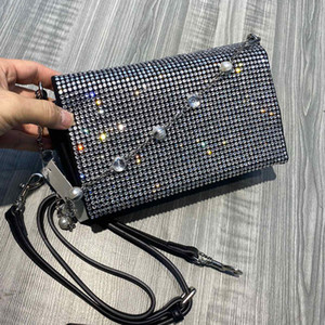 Crossbody Bag diamante sacchetti di spalla modo di alta qualità delle donne Messenger Bag vendita calda Dot Plain Belt Bag Free Shipping