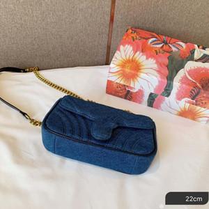 Designer-sacos mulheres cadeia ombro bolsa denim designer bolsas estilo de material pérola corpo cruz bolsa saco de luxo
