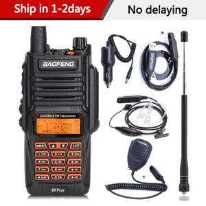 hones Telecomunicações Walkie Talkie BAOFENG UV-9R Além disso impermeável Handheld Walkie Talkie 8Watts UHF VHF Dual Band IP67 HF Transc ...