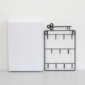 Kapı Arka Odası Ana Salon Çok Amaçlı Hook Asma Dekoratif Çanta Saklama Saç Pin Anahtar Tutucu Raf Organizatör Duvar