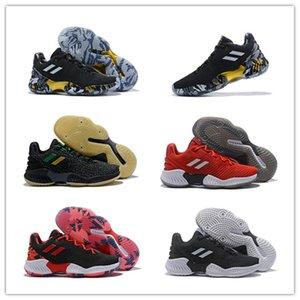 2019 Best New Harden Vol.2 Multicolor Negro Oro Rojo para hombre Baloncesto zapatos Barato de alta calidad endurecer 2 2s peso ligero deporte zapatillas 40-46
