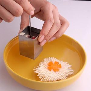 Tofu Cutter Edelstahl handliche quadratischen Rastern geformt Tofu Cutter Handpresse Tofu Shredder Küche kochend Gemüse-Werkzeuge