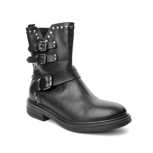 John May ck Women's Boots T061 Amber T-Progetto Toffy Nero
