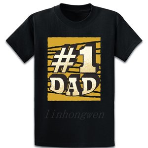 Number 1 Dad T Shirt Printing S-XXXXXL Interesting Spring New Style Trend Natural Cotton Shirt