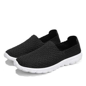 Ramialali Homens Sapatos 2019 Verão respirável Loafers Handmade calçados casuais Melhor Moda Qualidade Confortável Homens Woven