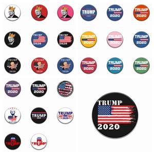 26 Styles Donald Trump Pins Élection présidentielle Trump Épingle 2020 Campagne Broche Hommes Femmes Manteau Bijoux meilleur cadeau ZZA1878