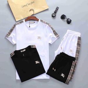 hot 2020 Designer Treino Homens Marca agasalhos ver Mens Outono Luxo Fatos Jogger Suits Jacket Pants Sets Sporting homens Suit impressão