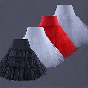 Tutu Skirt Silps swing Rockabilly Sottoveste Sottogonna Crinoline soffice pettiskirt per abito da donna vintage