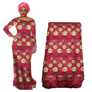 Новый дизайн African бисер ткань шнурка с бисером Нигерийской ткани шнурок для венчания Французских вышивок Тюль Вуаль ткань шнурок BF0021