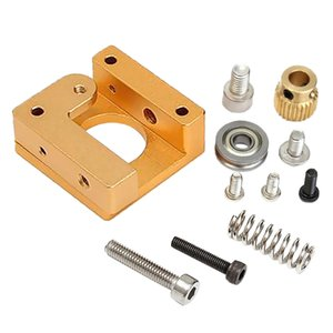 3D Printer MK8 Full Metal Extrudeuse 1.75mm à distance Chargeur Filament Extrudeuse Kits DIY Cadre en aluminium Bloc d'accessoires