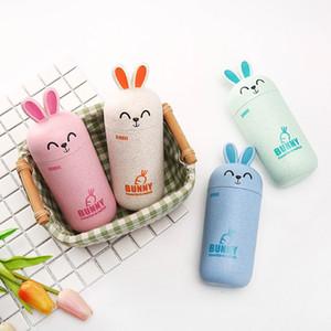 Weizen Stroh Kaninchen Wasserflasche Kinder Geburtstagsgeschenk Getränk Tasse China Produkt Tumbler New Style 7 7dj Ww