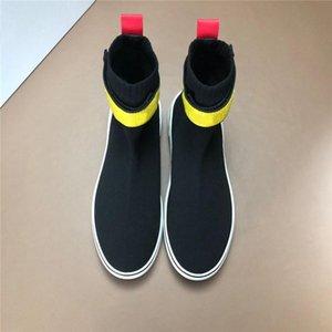 moda Le ultime sneaker da uomo calzino con tomaia in mesh, stivali Triple S con scarpe da ginnastica in gomma morbida per uomo Moda sneaker con fondo rosso c8