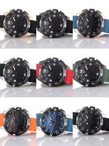 Wholesale Watch Goma Touch WristWatches Watches T081 Compass Altimeter Quartz Black Race Strap Screen T Hombres verdes Cierre Chrono Implementar Tqae