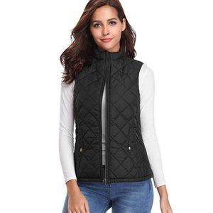 2020 Winter Vest Female Womens Plus Size S-XL Sleeveless Jacket Warm Waistcoat Autumn Lightweight Black Duck Down Vests Women