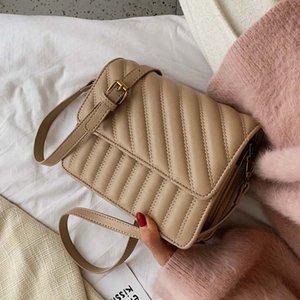 Women Handbag Female Shoulder Bags Ladies Crossbody Bags Fashion PU Leather Sewing Thread Small Black Quality Travel