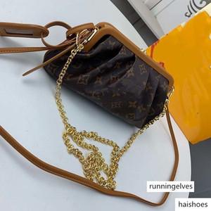 Designer Luxury Handbag Cloud Bag Luxury Designer Handbag Messenger Bag Retro Leather Handle Shoulder Bag 66606-11