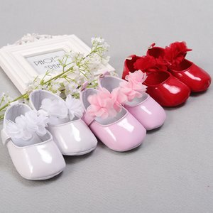 K30 baby with formal dress imitation leather walking walking baby pre-step princess pre-step shoes chiffon painted leather shoes