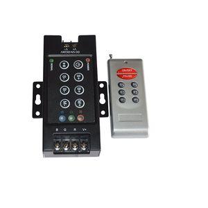 RF 8 teclas RGB LED Controlador remoto LED RGB Switch DC12V-24V 30A Controlador inalámbrico Controlador remoto Hierro Shell
