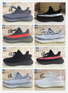 Kanye High Quality 35C Mens Womens Sneakers Ventilation Mesh Design Shoes Women Designer Cloth Shoes Fashion Shoes WB04