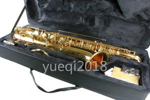 Yanagisawa 황동 골드 래커 Baritone 색소폰 고품질 뮤지컬 악기 E 플랫 색소폰 캔버스 케이스 무료 배송
